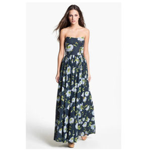 French Connection 'Spring Bloom' Cotton Maxi Dress